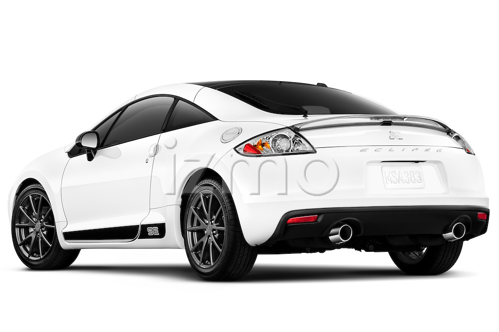 Rear three quarter view of a 2012 Mitsubishi Eclipse SE