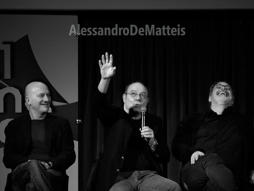 16 Festival Cinema Europeo - Lecce - Carlo Verdone, Marco Giusti, Claudio Bisio