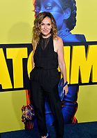 "LOS ANGELES, USA. October 15, 2019: Amy Brenneman at the premiere of HBO's ""Watchmen"" at the Cinerama Dome, Hollywood.<br /> Picture: Paul Smith/Featureflash"