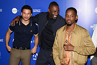 Idris Elba &amp; Aml Ameen at the &quot;Yardie&quot; premiere as part of the Sundance London Festival 2018, Picturehouse Central, London, UK. <br /> 01 June  2018<br /> Picture: Steve Vas/Featureflash/SilverHub 0208 004 5359 sales@silverhubmedia.com