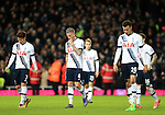 Tottenham's Toby Alderweireld looks on dejected at the final whistle<br /> <br /> - English Premier League - West Ham Utd vs Tottenham  Hotspur - Upton Park Stadium - London - England - 2nd March 2016 - Pic David Klein/Sportimage