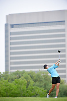 Lindy Duncan (USA) watches her tee shot on 3 during round 3 of  the Volunteers of America Texas Shootout Presented by JTBC, at the Las Colinas Country Club in Irving, Texas, USA. 4/29/2017.<br /> Picture: Golffile | Ken Murray<br /> <br /> <br /> All photo usage must carry mandatory copyright credit (&copy; Golffile | Ken Murray)