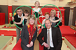Minister visit to Neath Afan Gym Club