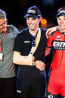 Samu Sanchez during La Vuelta a España 2016 in Madrid. September 11, Spain. 2016. (ALTERPHOTOS/BorjaB.Hojas) NORTEPHOTO.COM