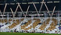 Leeds United fans celebrate 100 years of history<br /> <br /> Photographer Alex Dodd/CameraSport<br /> <br /> The EFL Sky Bet Championship - Leeds United v Birmingham City - Saturday 19th October 2019 - Elland Road - Leeds<br /> <br /> World Copyright © 2019 CameraSport. All rights reserved. 43 Linden Ave. Countesthorpe. Leicester. England. LE8 5PG - Tel: +44 (0) 116 277 4147 - admin@camerasport.com - www.camerasport.com