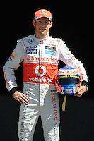 MCLAREN MERCEDES GP BRITISH DRIVER,JENSON BUTTON. .Melbourne 16/03/2013 .Formula 1 Gp Australia.Foto Insidefoto.ITALY ONLY .Posato Ritratto Pilota