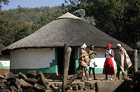 The hosts of the Lesedi Cultural Village outside Johannesburg, South Africa. Photo by Matt May