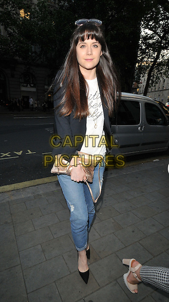 LONDON, ENGLAND - JUNE 11: Lilah Parsons attends  the new limited edition HTC One M9 INK handset launch party, ME London, The Strand, on Thursday June 11, 2015 in London, England, UK. <br /> CAP/CAN<br /> &copy;Can Nguyen/Capital Pictures