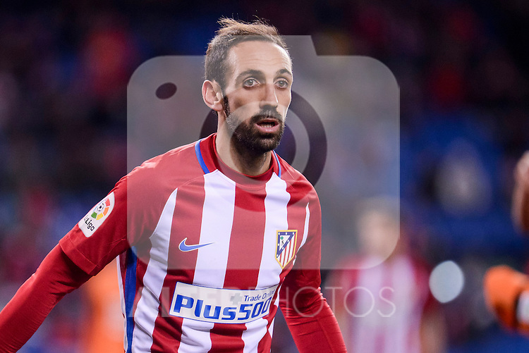 Atletico de Madrid's Juanfran Torres during Copa del Rey match between Atletico de Madrid and SD Eibar at Vicente Calderon Stadium in Madrid, Spain. January 19, 2017. (ALTERPHOTOS/BorjaB.Hojas)