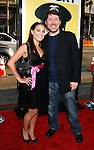 "HOLLYWOOD, CA. - April 06: Doug Benson and Jessica Erin Sylvia arrive at the Los Angeles premiere of ""Observe and Report"" at Grauman's Chinese Theater on April 6, 2009 in Hollywood, California."