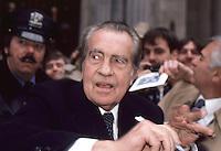 Richard Nixon by Jonathan Green<br /> NYC 1987