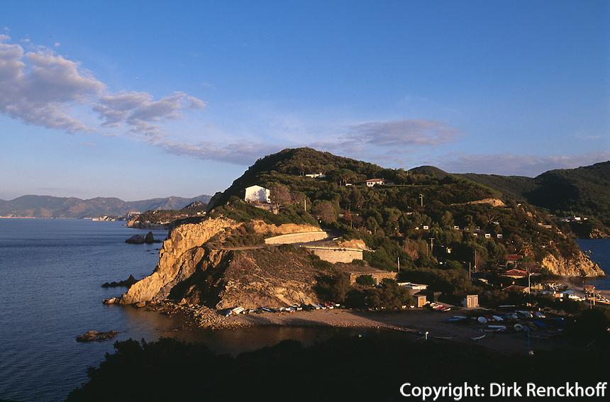 Italien, Elba, Capo d'Enfola bei Portoferraio