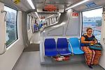 Transporte Metro monotrilho, Vila Prudente, Sao Paulo. 2018. Foto © Juca Martins.