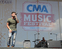 11 June 2016 - Nashville, Tennessee - Michael Ray. 2016 CMA Music Festival Riverfront Stage. Photo Credit: Dara-Michelle Farr/AdMedia