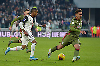 6th January 2020; Allianz Stadium, Turin, Italy; Serie A Football, Juventus versus Cagliari; Douglas Costa of Juventus leads a fast counterattack - Editorial Use
