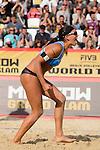 31.05.2015, Moskau, Vodny Stadion<br /> Moskau Grand Slam, Main Draw / Spiel Platz 3/4<br /> <br /> Jubel Marta Menegatti (#1 ITA)<br /> <br />   Foto &copy; nordphoto / Kurth