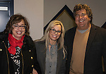 Naomi Duerr, Reno Mayor Hillary Schieve and Chi Chi Bengochea at the 3rd Street Flats Grand Opening in downtown Reno on Jan. 24, 2017.