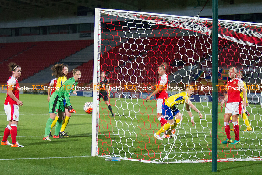 Belles go very close to scoring during Doncaster Rovers Belles vs Arsenal Ladies, FA Women's Super League FA WSL1 Football at the Keepmoat Stadium on 6th October 2016