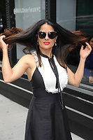 WWW.ACEPIXS.COM<br /> June 7, 2017 New York City<br /> <br /> Salma Hayek at AOL Build Speaker Series on June 7, 2017 in New York City.<br /> <br /> Credit: Kristin Callahan/ACE Pictures<br /> <br /> Tel: 646 769 0430<br /> Email: info@acepixs.com