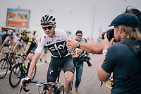 Chris Froome (GBR/SKY) afyter finishing<br /> <br /> Stage 13: Bourg d'Oisans &gt; Valence (169km)<br /> <br /> 105th Tour de France 2018<br /> &copy;kramon