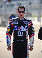 Feb 10, 2008; Daytona Beach, FL, USA; Nascar Sprint Cup Series driver Sam Hornish Jr (77) during qualifying for the Daytona 500 at Daytona International Speedway. Mandatory Credit: Mark J. Rebilas-US PRESSWIRE