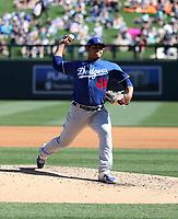 Brusdar Graterol - Los Angeles Dodgers 2020 spring training (Bill Mitchell)