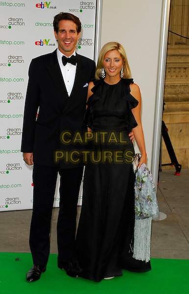 PRINCE PAVLOS OF GREECE & MARIE CHANTAL.At the Dream Auction Full Stop - VIP Party, primarily to launch children's charity NSPCC's There4Me online sevice. Held at the Royal Albert Hall, London, UK..May 9th 2006.Ref: CAN.full length royal black dress tuxedo .www.capitalpictures.com.sales@capitalpictures.com.©Capital Pictures