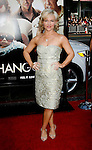 """HOLLYWOOD, CA. - June 02: Actress Rachel Harris arrives at the Los Angeles premiere of """"The Hangover"""" at Grauman's Chinese Theatre on June 2, 2009 in Hollywood, California."""