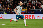 Argentina's Lautaro Martinez celebrates goal during International Adidas Cup match between Argentina and Venezuela at Wanda Metropolitano Stadium in Madrid, Spain. March 22, 2019. (ALTERPHOTOS/A. Perez Meca)