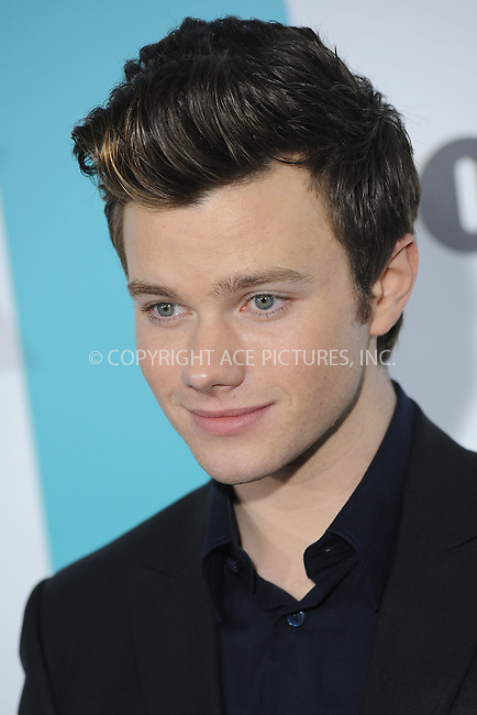 WWW.ACEPIXS.COM . . . . . .May 14, 2012...New York City....Chris Colfer attending the 2012 FOX Upfront Presentation in Central Park on May 14, 2012  in New York City ....Please byline: KRISTIN CALLAHAN - ACEPIXS.COM.. . . . . . ..Ace Pictures, Inc: ..tel: (212) 243 8787 or (646) 769 0430..e-mail: info@acepixs.com..web: http://www.acepixs.com .