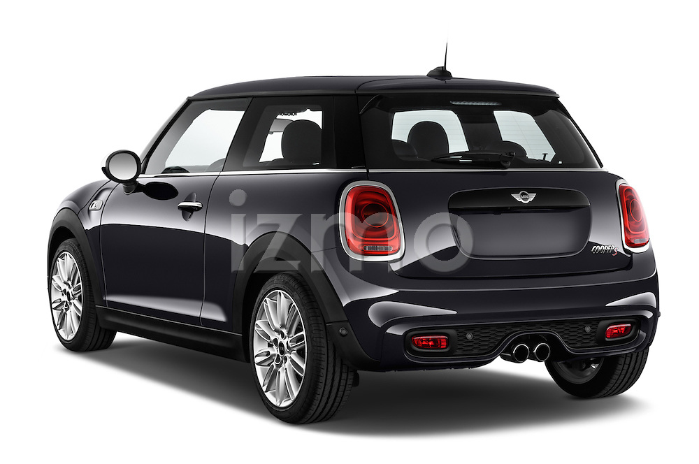 Car pictures of rear three quarter view of2015 MINI MINI COOPER S 3 Door Hatchback 2WD Angular Rear