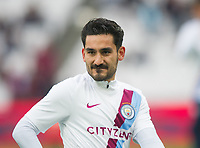 Manchester City Ilkay Gundogan before the EPL - Premier League match between West Ham United and Manchester City at the Olympic Park, London, England on 29 April 2018. Photo by Andrew Aleksiejczuk / PRiME Media Images.