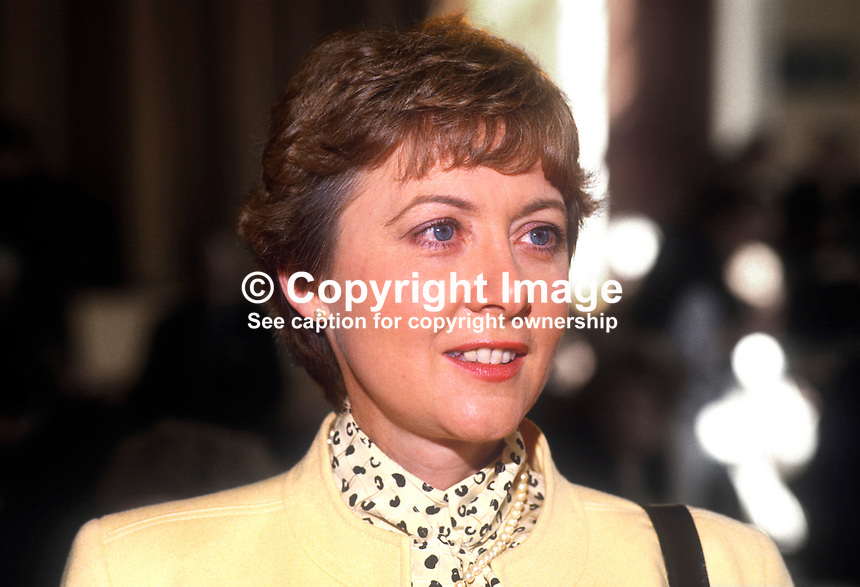 Anna McCurley, MP, Conservative Party, Scotland, UK, May 1986, 19860503AMC<br />