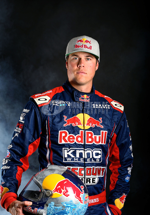 Mar. 21, 2014; Chandler, AZ, USA; LOORRS pro 2 driver Bryce Menzies poses for a portrait prior to round one at Wild Horse Motorsports Park. Mandatory Credit: Mark J. Rebilas-USA TODAY Sports