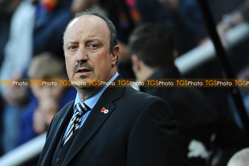 Newcastle United manager Rafa Benítez during Newcastle United vs AFC Bournemouth, Premier League Football at St. James' Park on 4th November 2017