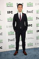 Joseph Gordon-Levitt<br /> at the 2014 Film Independent Spirit Awards Arrivals, Santa Monica Beach, Santa Monica, CA 03-01-14<br /> David Edwards/Dailyceleb.com 818-249-4998