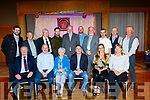 Seated L-R Tony Hehir, Gareth, Patsy&Chris Foley, with Sarah&Margaret Shanahan, Back L-R Dave Ciurren, George Glover, Pj O'Riordan, Dave O'Mahony, Richard Bono, Alan O'Halloran, Gerry Casey, Joe O'Sullivan, John Browne and Brendan Shanahan all committee members at the 40th anniversary social of the Kingdom Vintage, Veteran & Classic Car Club (KVV&CCC) last Saturday night in the Ballyroe Heights Hotel, Tralee.