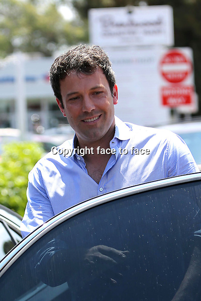 Ben Affleck out and about in Brentwood on june 9, 2013<br />