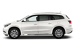Driver side profile view of a 2013 Buick Enclave