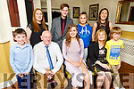 Aimée Kerins celebrating her graduation from Mercy Mounthawk on Friday evening in the Brogue Inn.<br /> Seated l to r: Amy and Pat Kerins and Christina Donovan.<br /> Back l to r: James Deady, Tracy Kerins, Joseph Vizer, Jennifer, Cian and Alex Kerins.