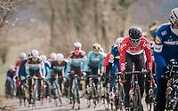 Tosh Van der Sande (BEL/Lotto-Soudal) incognito <br /> <br /> 50th GP Samyn 2018<br /> Quaregnon &gt; Dour: 200km (BELGIUM)