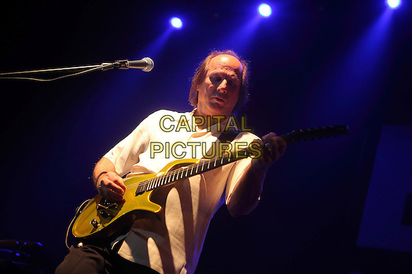 Adrian Belew Power Trio.Concert in Moscow, Russia..November 10th, 2009 .on stage in concert live gig performance performing music half length white top guitar.CAP/PER/SB.© SB/Persona/CapitalPictures