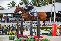 GBR-Holly Smith rides Denver during the Queens Cup - Segura Viudas Trophy. 2019 CSIO Barcelona - Longines FEI Nations Cup Jumping Final. Reial Club de Polo de Barcelona. Spain. Saturday 5 October. Copyright Photo: Libby Law Photography