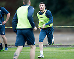 St Johnstone Training…07.09.17<br />Michael O'Halloran pictured during training at McDiarmid Park ahead of the home game against Hibs<br />Picture by Graeme Hart.<br />Copyright Perthshire Picture Agency<br />Tel: 01738 623350  Mobile: 07990 594431