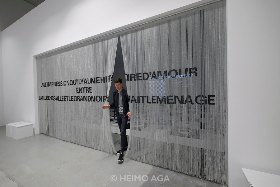Athens, Greece. Opening days of documenta14.<br /> Athens School of Fine Arts (ASFA), &ldquo;Nikos Kessanlis&rdquo; Exhibition Venue.