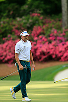 Ian Poulter (ENG) on the 13th green during the 1st round at the The Masters , Augusta National, Augusta, Georgia, USA. 11/04/2019.<br /> Picture Fran Caffrey / Golffile.ie<br /> <br /> All photo usage must carry mandatory copyright credit (© Golffile | Fran Caffrey)
