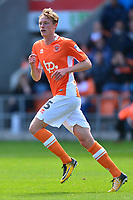 Blackpool's Sean Longstaff in action<br /> <br /> Photographer Richard Martin-Roberts/CameraSport<br /> <br /> The EFL Sky Bet League One - Blackpool v Milton Keynes Dons - Saturday August 12th 2017 - Bloomfield Road - Blackpool<br /> <br /> World Copyright &copy; 2017 CameraSport. All rights reserved. 43 Linden Ave. Countesthorpe. Leicester. England. LE8 5PG - Tel: +44 (0) 116 277 4147 - admin@camerasport.com - www.camerasport.com