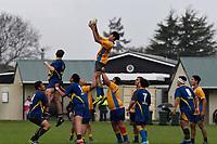 Hurricanes U15 Rugby - Rongotai College v St Bernard's College at Trentham Memorial Park, Upper Hutt, New Zealand on Thursday 5 September 2019. <br /> Photo by Masanori Udagawa. <br /> www.photowellington.photoshelter.com
