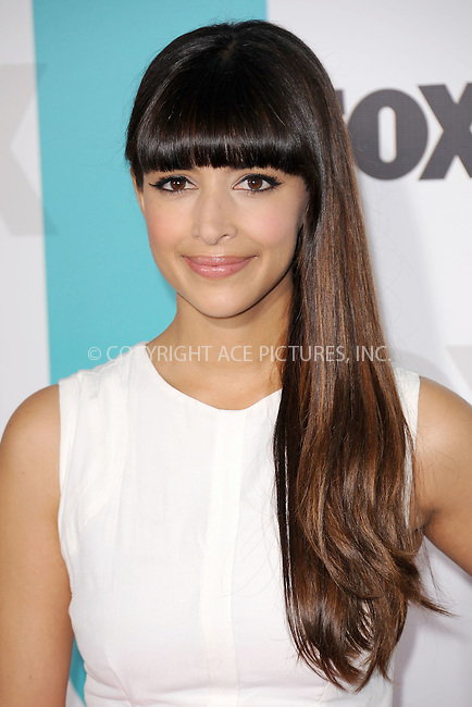 WWW.ACEPIXS.COM . . . . . .May 14, 2012...New York City....Hannah Simone attending the 2012 FOX Upfront Presentation in Central Park on May 14, 2012  in New York City ....Please byline: KRISTIN CALLAHAN - ACEPIXS.COM.. . . . . . ..Ace Pictures, Inc: ..tel: (212) 243 8787 or (646) 769 0430..e-mail: info@acepixs.com..web: http://www.acepixs.com .