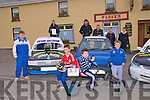 Kingdom Hot Rod Family Day : Kingdom Hot Rod Club are holding a two day family event at Kilflynn hot Rod Track in aid of Nano Nagle School in Listowel on the 30th & 31st October, Pictured at the launch of the event at Parker's Bar in Kilflynn on Monday were front : Owen Relihan, Gavin Relihan, Kevin Parker & Brendan O'Sullivan. Back : Kevin O'Sullivan, Mike Relihan, Michael Power, Brendan O'Sullivan & Kevin Relihan.....Press release to follow
